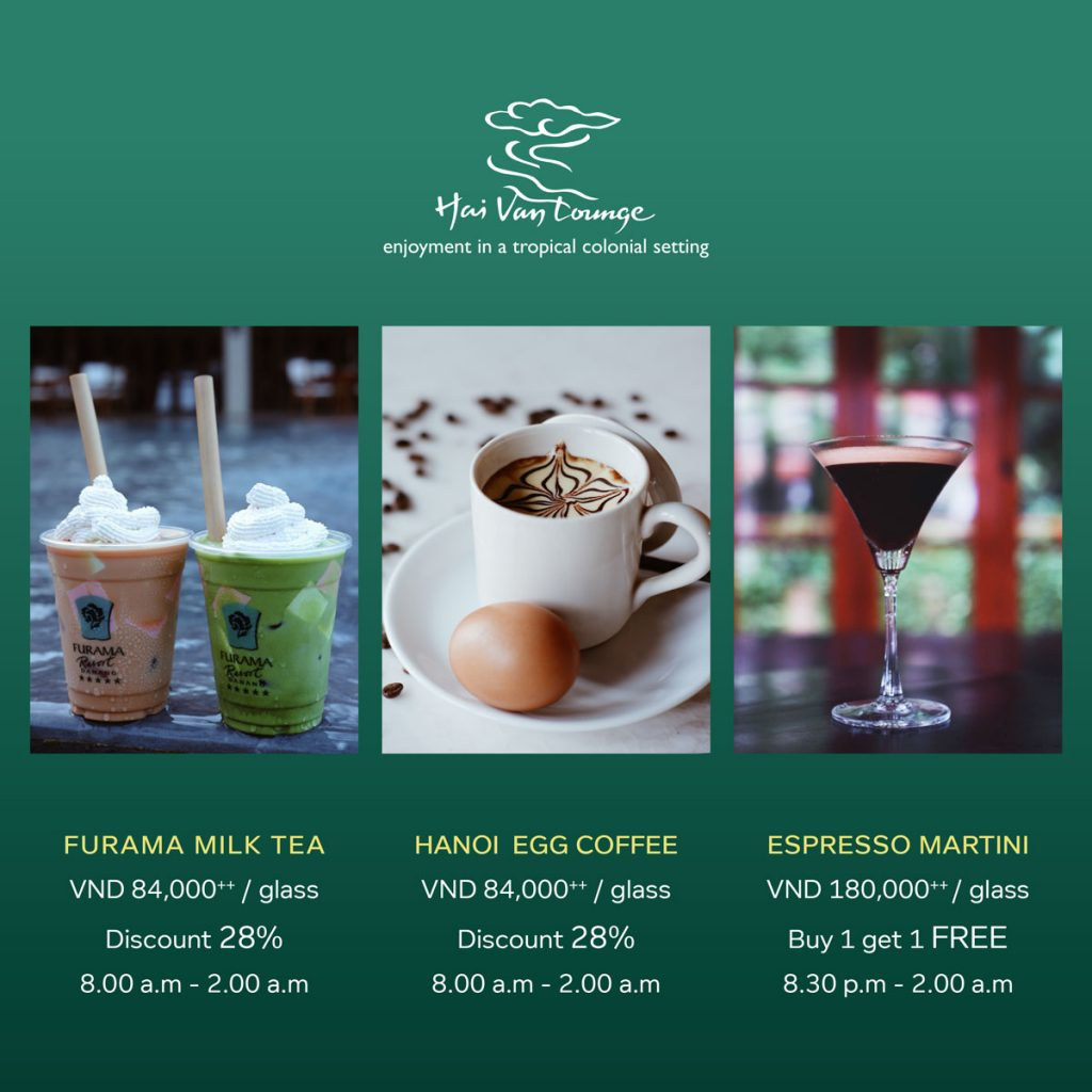 """Savor Fall Flavors"" – 3 Fantastic Drinks For Your Autumn At Furama Resort Danang"