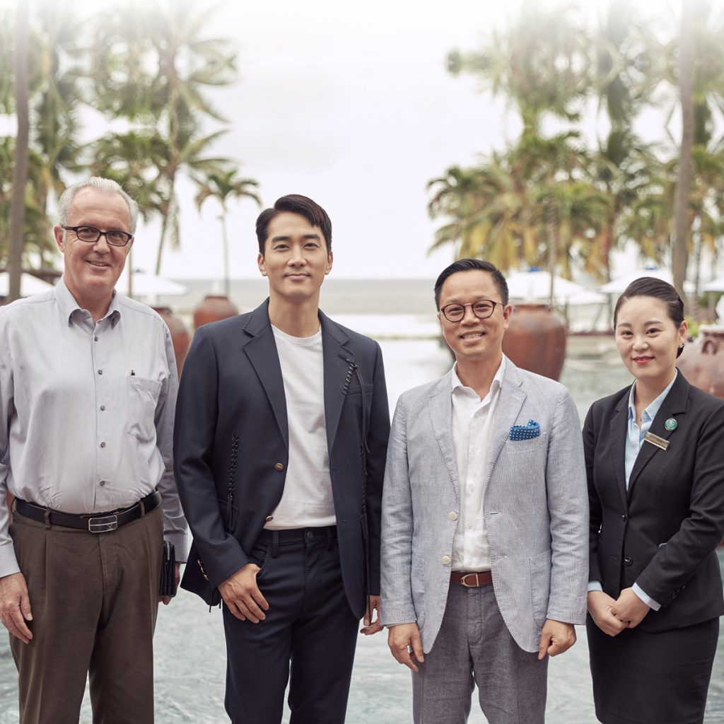Korean Actor Song Seung Heon Photoshooting At Furama Resort Danang