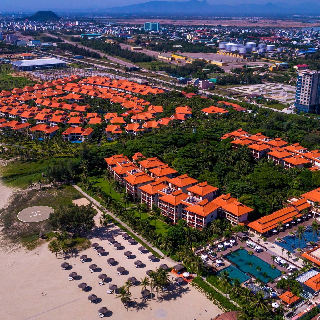 """Furama awarded """"Luxury Beachfront Villa"""""""