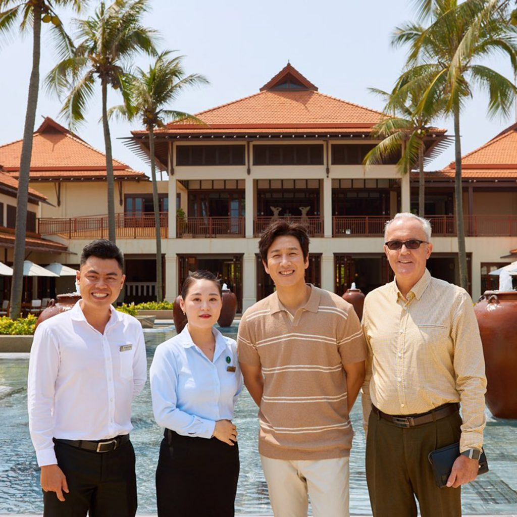 Leading Korean Actor Lee Sun Kyun Visits Furama Resort Danang