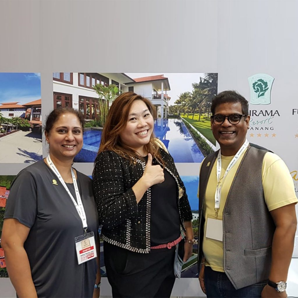 Furama Resort Danang Attends Natas Travel Fair 2019