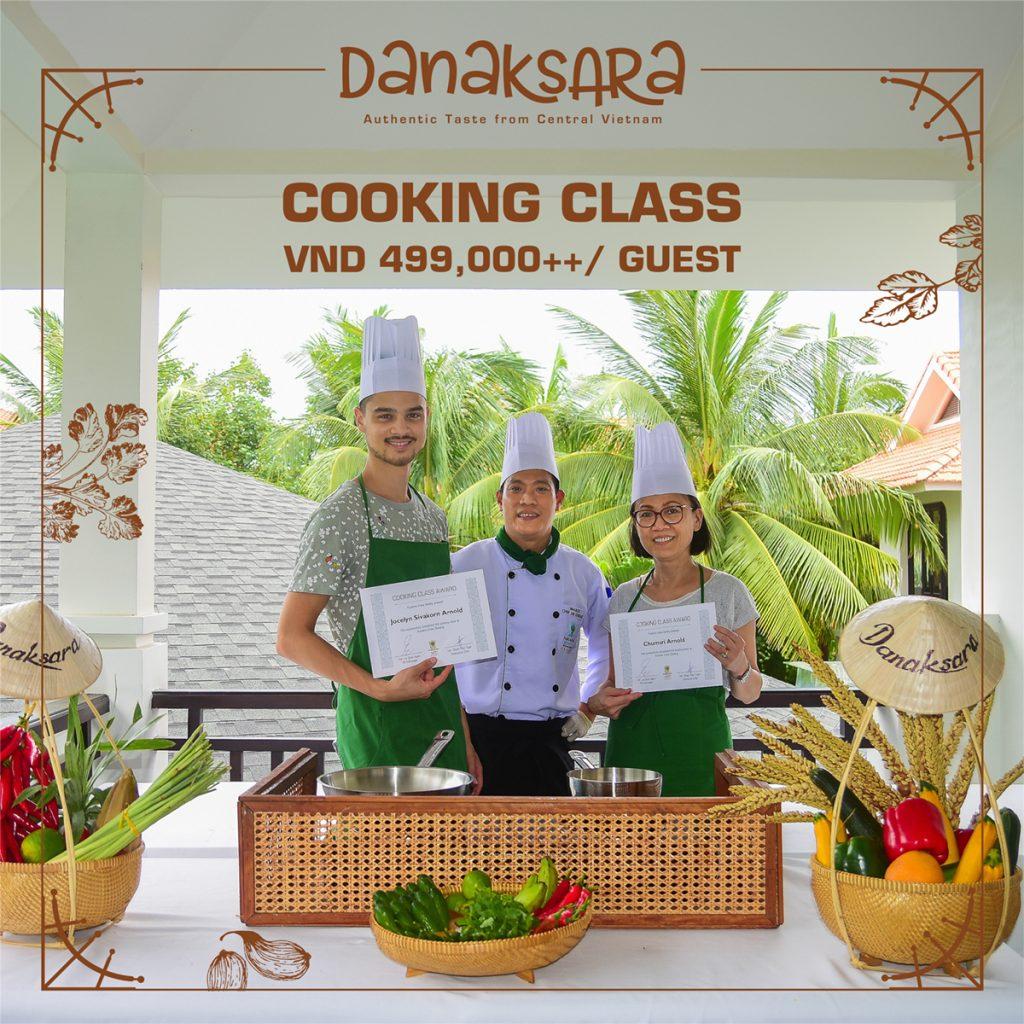 Vietnamese Cuisine Cooking Class At Danaksara Restaurant