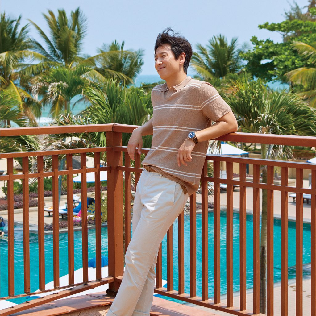 "Korean Actor Lee Seon Kyun's ""Marie Claire"" Magazine Photo-Shooting At Furama Resort Danang"