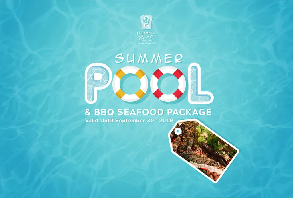 Summer Pools And Seafood Dinner Buffet Combo