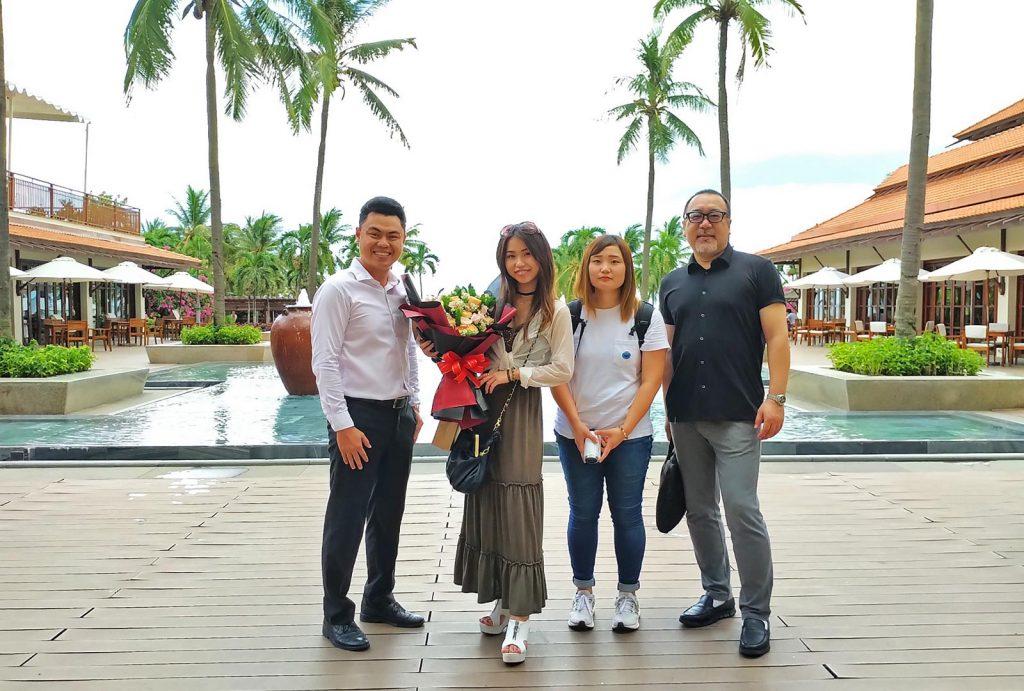 Japanese Singer Meik Visits Furama Resort Danang