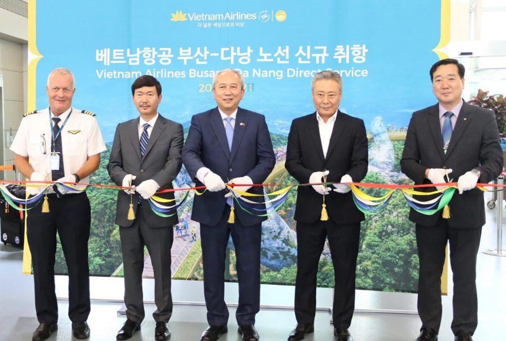 Vietnam Airlines Launches Danang – Busan Flight