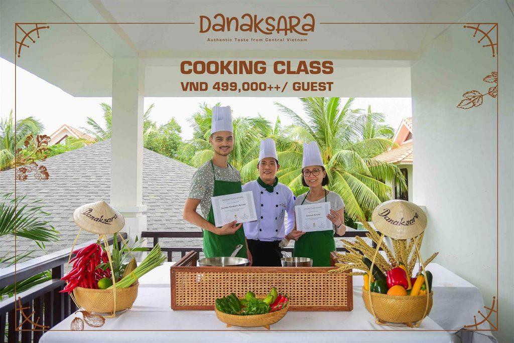 Vietnamese Cuisine Cooking Class At Danaksara Restaurant