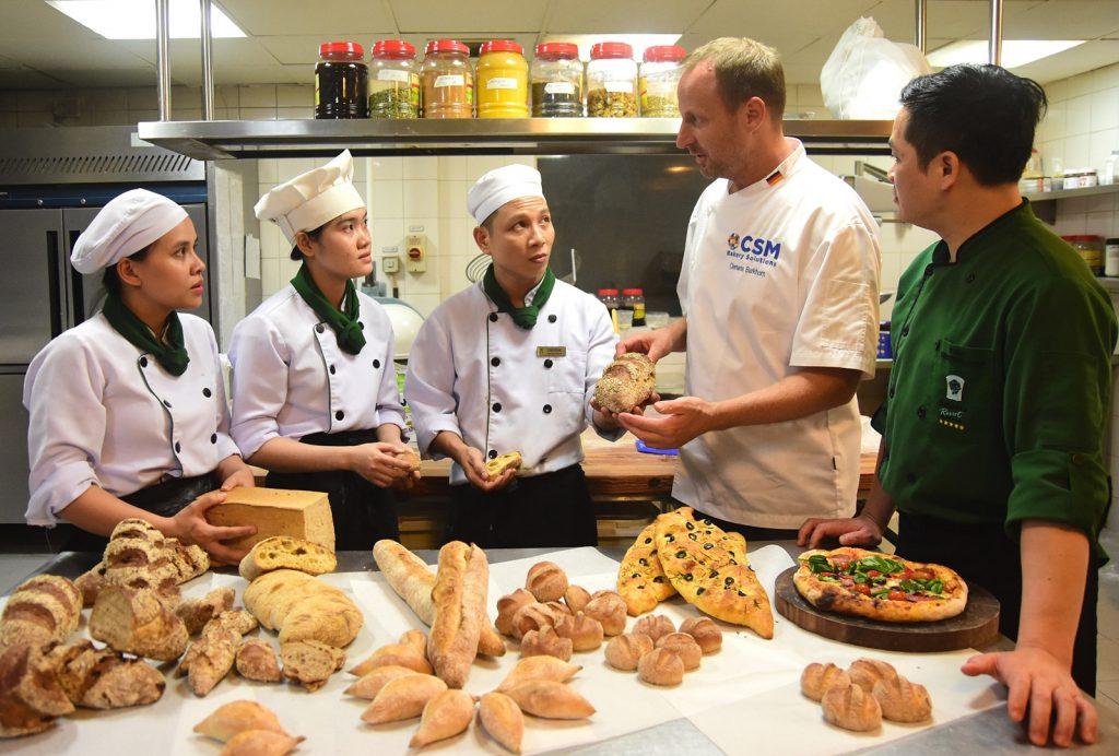 Bakery Training For Furama Resort Danang's Pastry Chefs