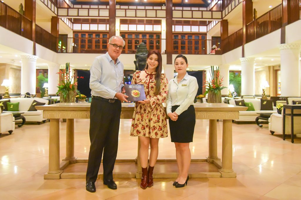 K-Pop Queen Ailee Visits Furama Resort Danang