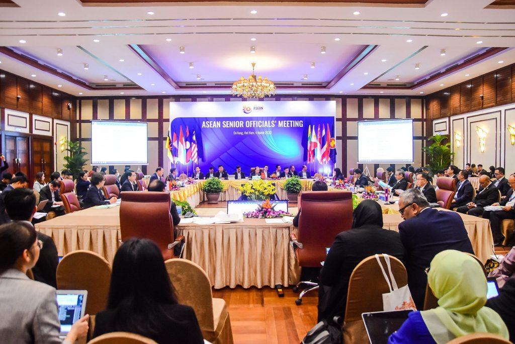 Asean Senior Officials' Meeting Opens In Danang