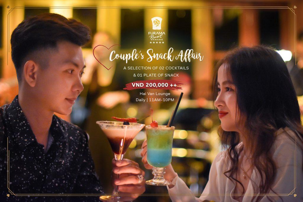 Couple's Snack Affair At Hai Van Lounge, Furama Resort Danang