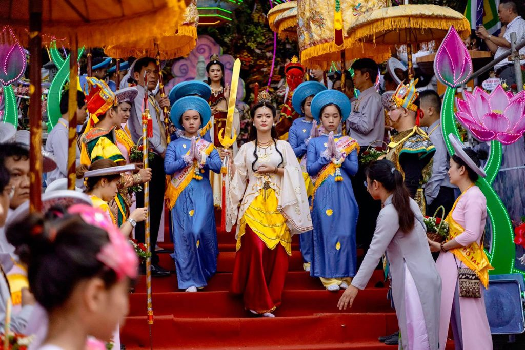 Quan The Am (Avalokitecvara) Festival in Da Nang gets national heritage honours